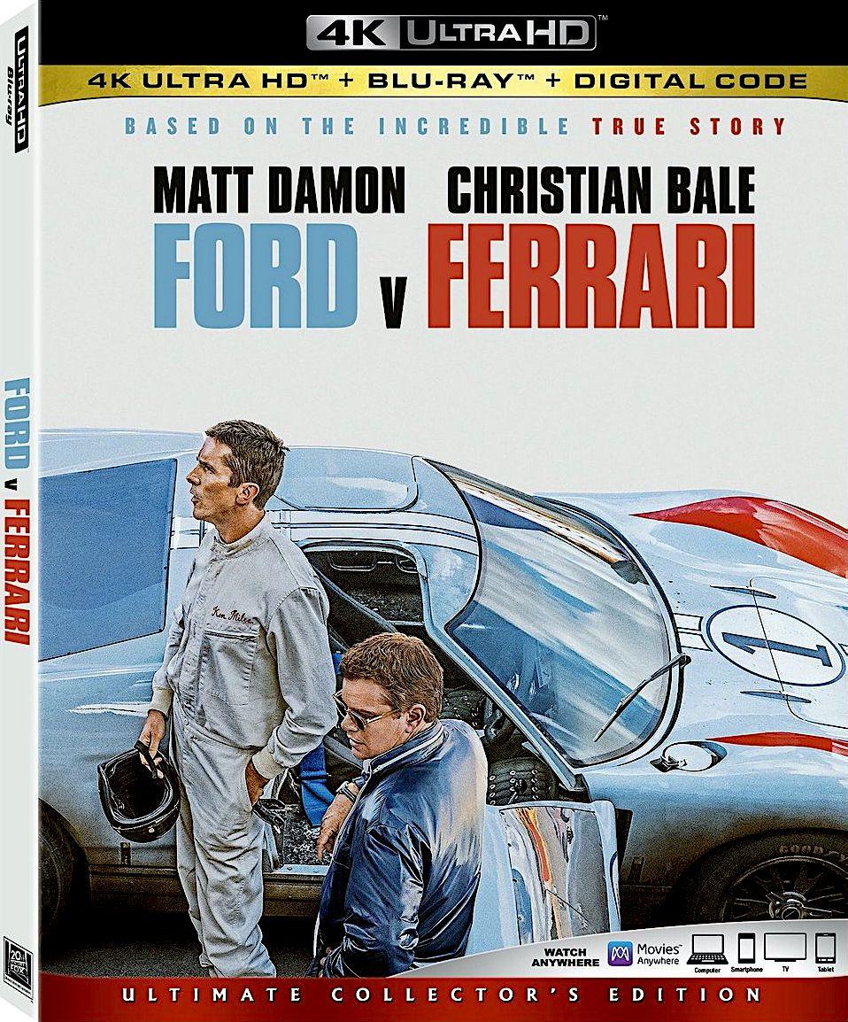 Ford V Ferrari 4k Blu Ray 20th Century Fox Disney In 2020