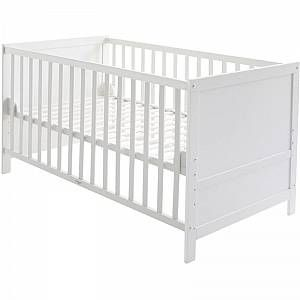 roba Combi Baby Cot - Junior Bed White -