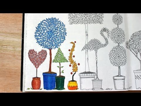How I Color Topiary Part 1