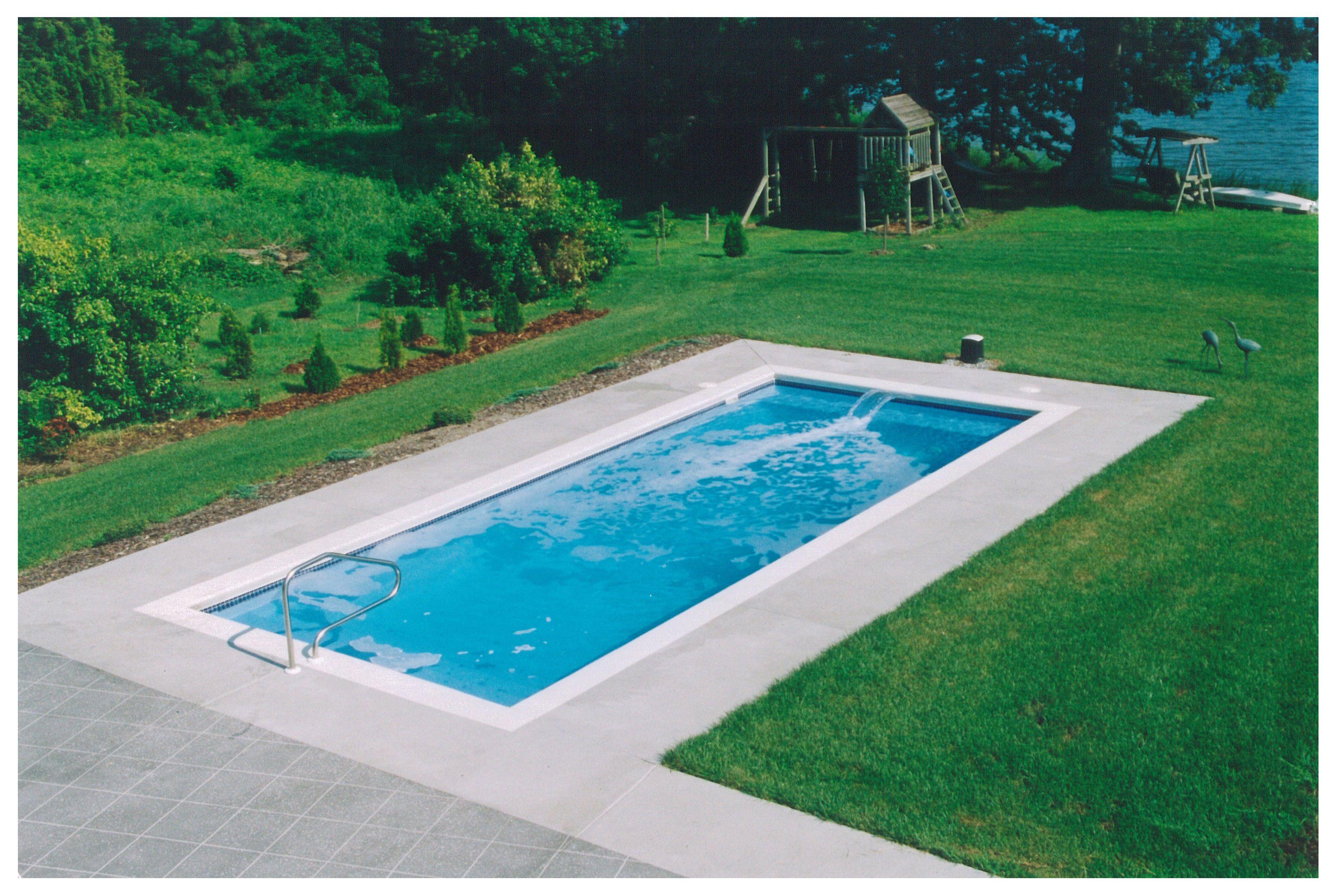 Rectangular Swimming Pools Google Search Small Inground Pool