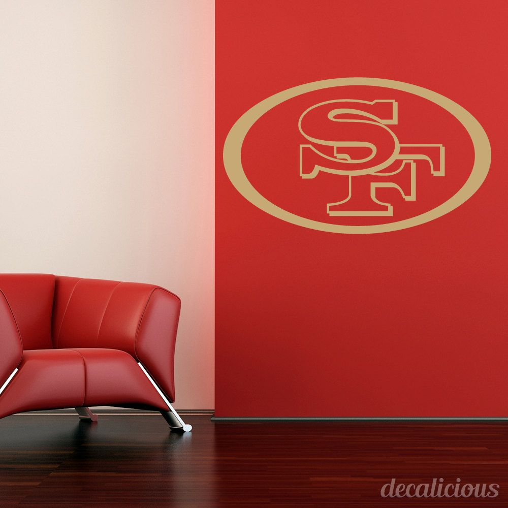 San Francisco Ers DieCut Vinyl Decal Ers Decor Ers Gifts - Custom die cut vinyl wall decals