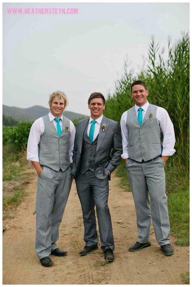 Simple Weddings Groomsmen Ties
