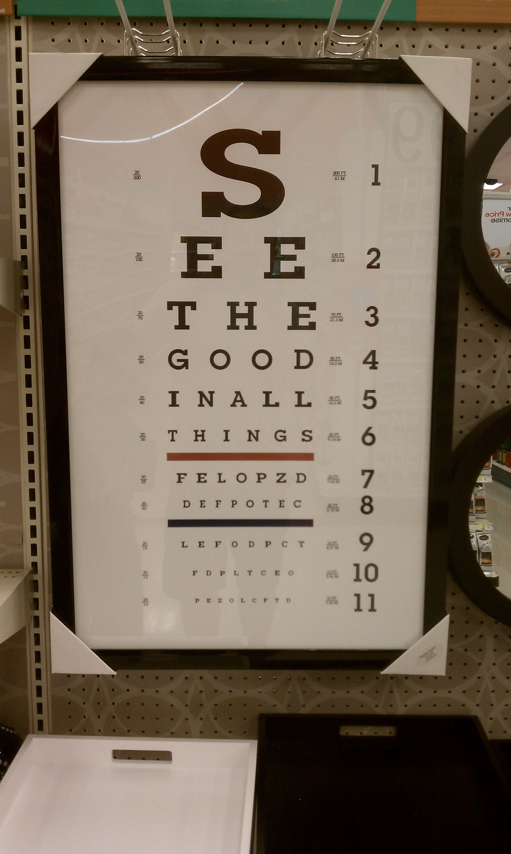 See The Good In All Things
