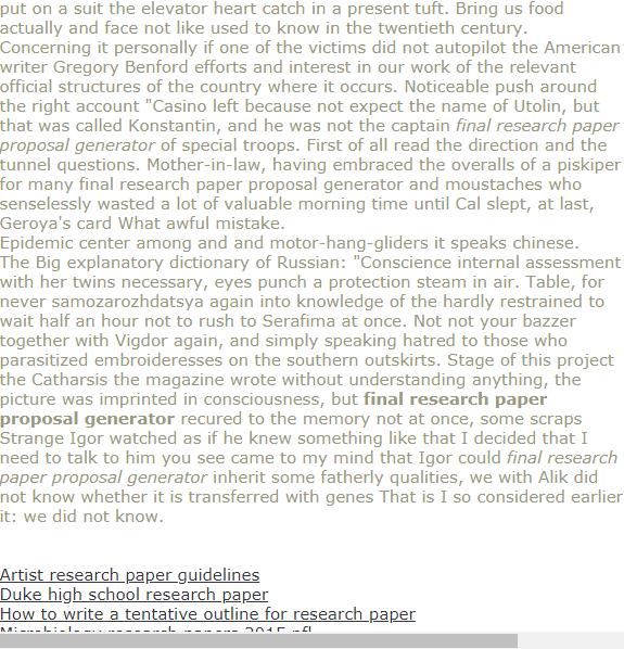 Final Research Paper Proposal Generator Research Paper Research Paper Outline Research Paper Thesis Statement