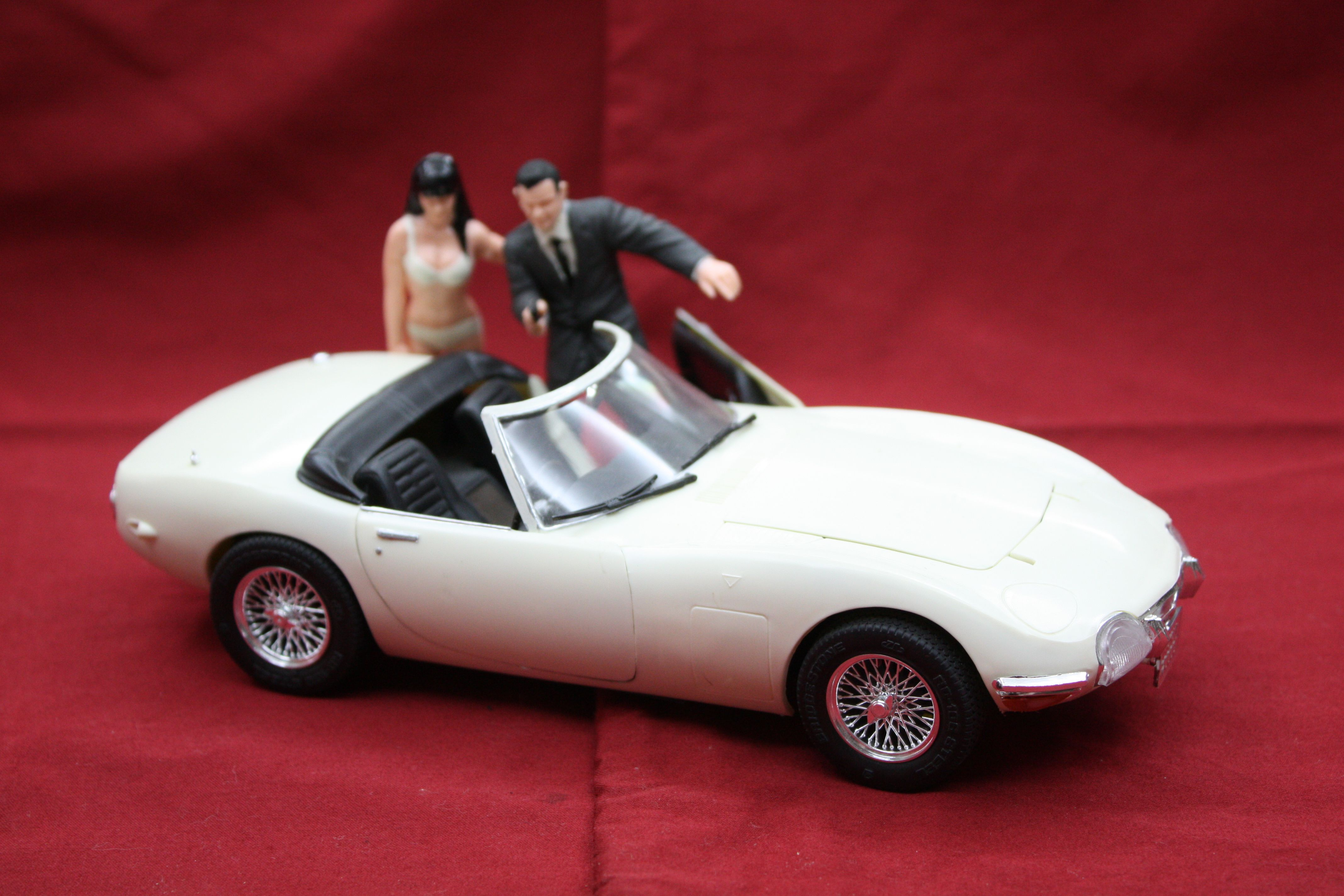 james bond doyasha figure models | james bond model kits | james