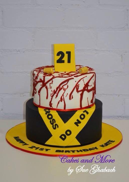 Forensics Cake Www Cakesandmore Net Au Small Birthday Cakes Graduation Cakes Baking Project