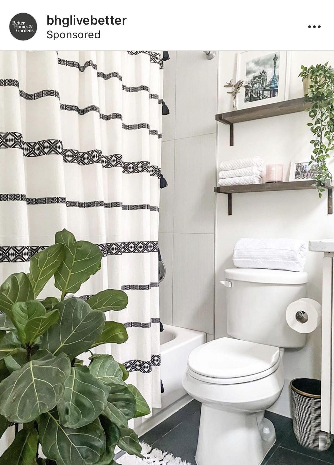 Better Homes Gardens Boho Chic Cotton Shower Curtain Beige Black 72 X72 Walmart Com Simple Bathroom Decor Diy Bathroom Makeover Bathroom Renovation Diy [ 1568 x 1125 Pixel ]