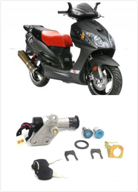 Key Switch Ignition Lock for Chinese 50cc 150cc GY6 Taotao Jonway Roketa Scooter