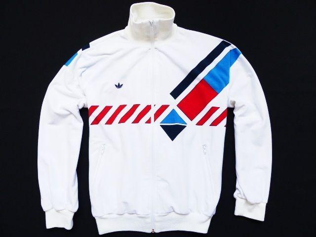 Details about adidas Ivan Lendl Track Jacket Vintage White Original Superstar