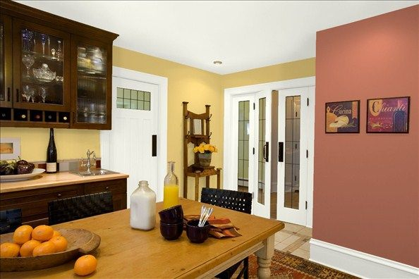 Welcoming Y Kitchen Wall Color Marlbehead Gold Trim