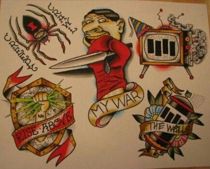 Black Flag Tattoos Black Flag Tattoo Black Flag Tattoo Flash Art