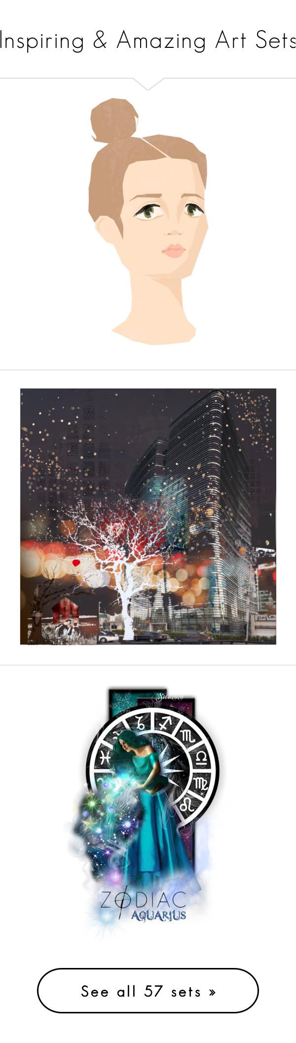 """Inspiring & Amazing Art Sets"" by jennross76 ❤ liked on Polyvore featuring art, zodiac, Aquarius, astrology, musicmakestheset, Chanel, 174, elainestopsets, nksecretsanta and lymediseaseawareness"