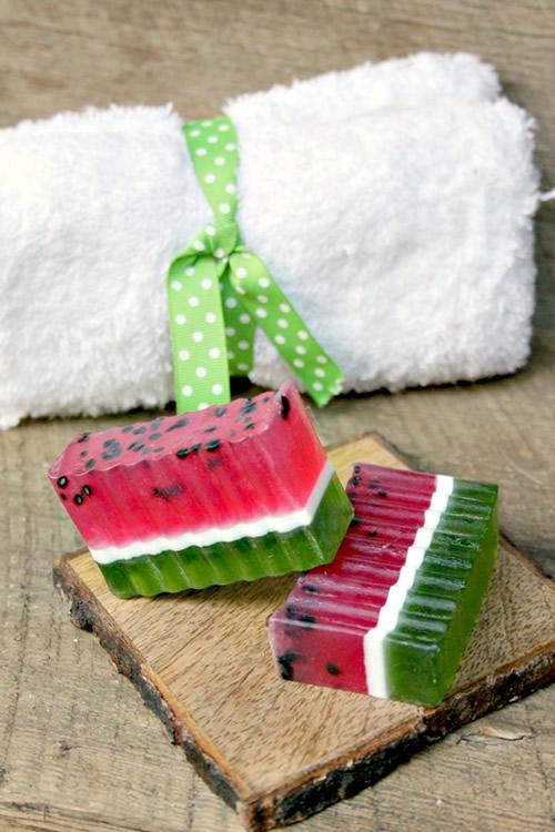 DIY Watermelon Soap Bar How To Make Homemade Watermelon