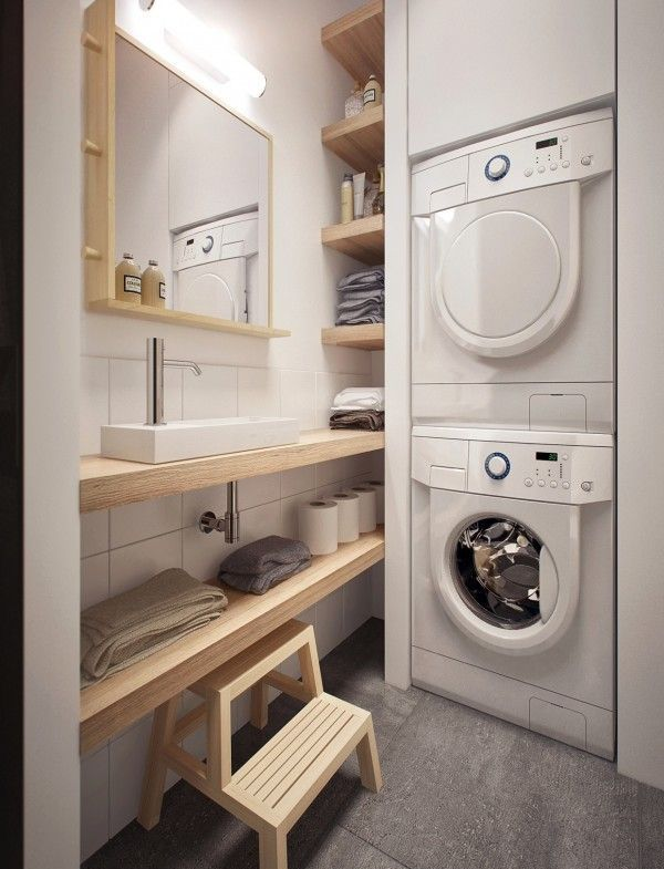 12 Tiny Laundry Room With Saving Space Ideas Tiny Laundry Rooms