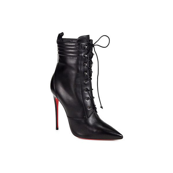 Womens In Love Leather Ankle Boots Christian Louboutin hpWqBBlrAx