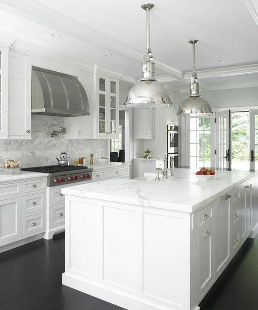 40 Stunning White Kitchen Cabinet Decor Ideas 2020 42 Home Decor Kitchen Kitchen Design Kitchen Cabinets Decor