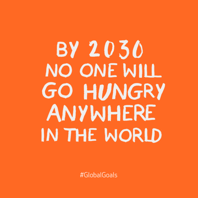 Hunger Quotes Beauteous Goal 2  No Hunger Globalgoals Httpwww.globalgoalstell