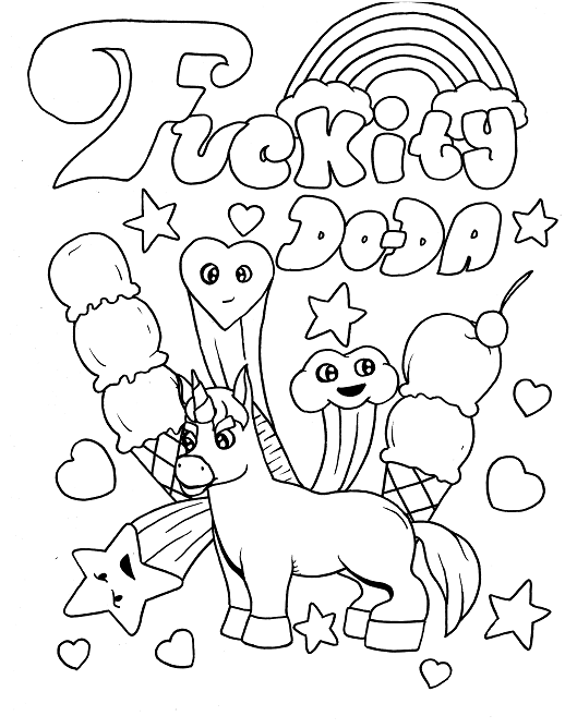 - Pin On Swear Word Coloring Pages