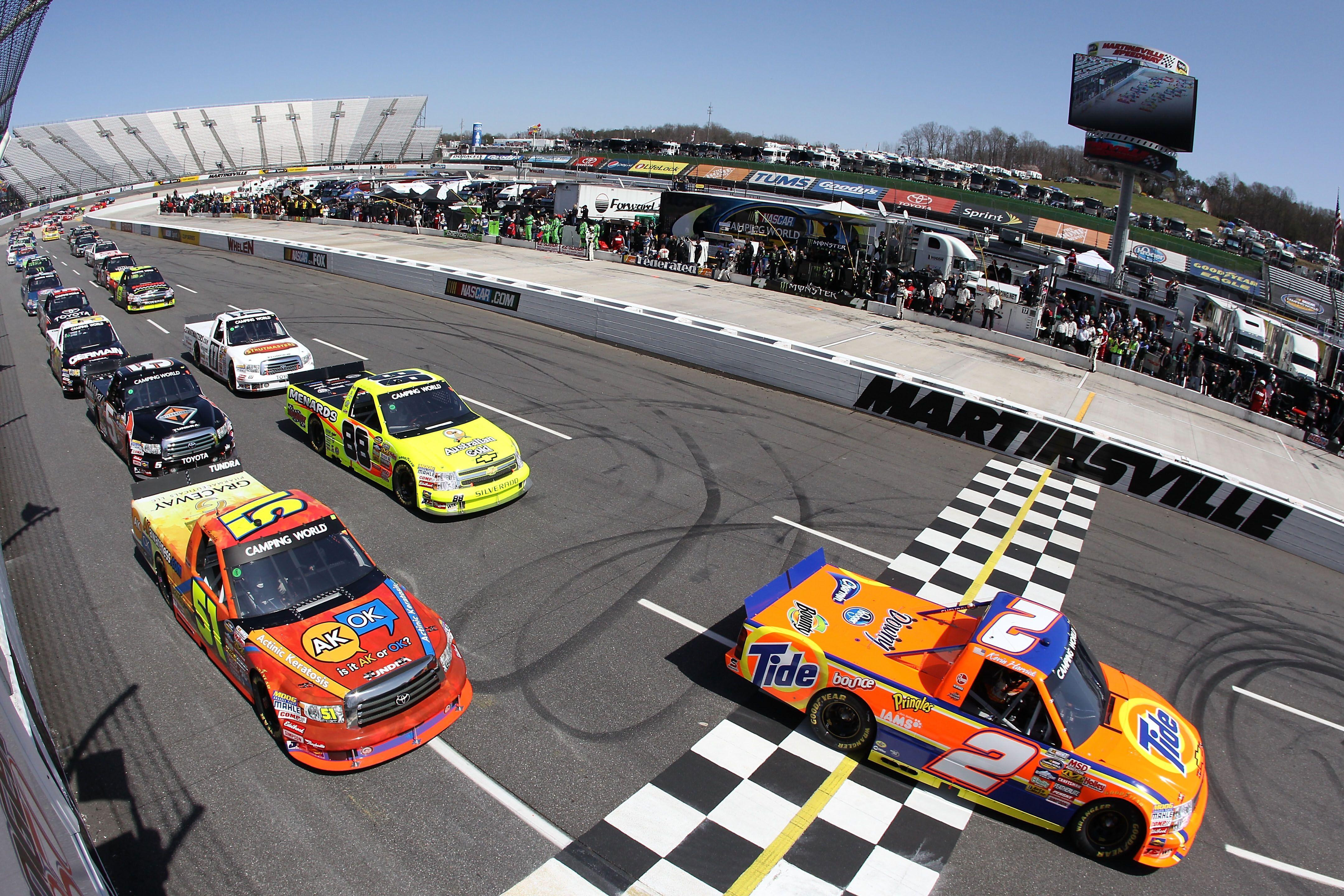 Martinsville finish line NASCAR Pinterest
