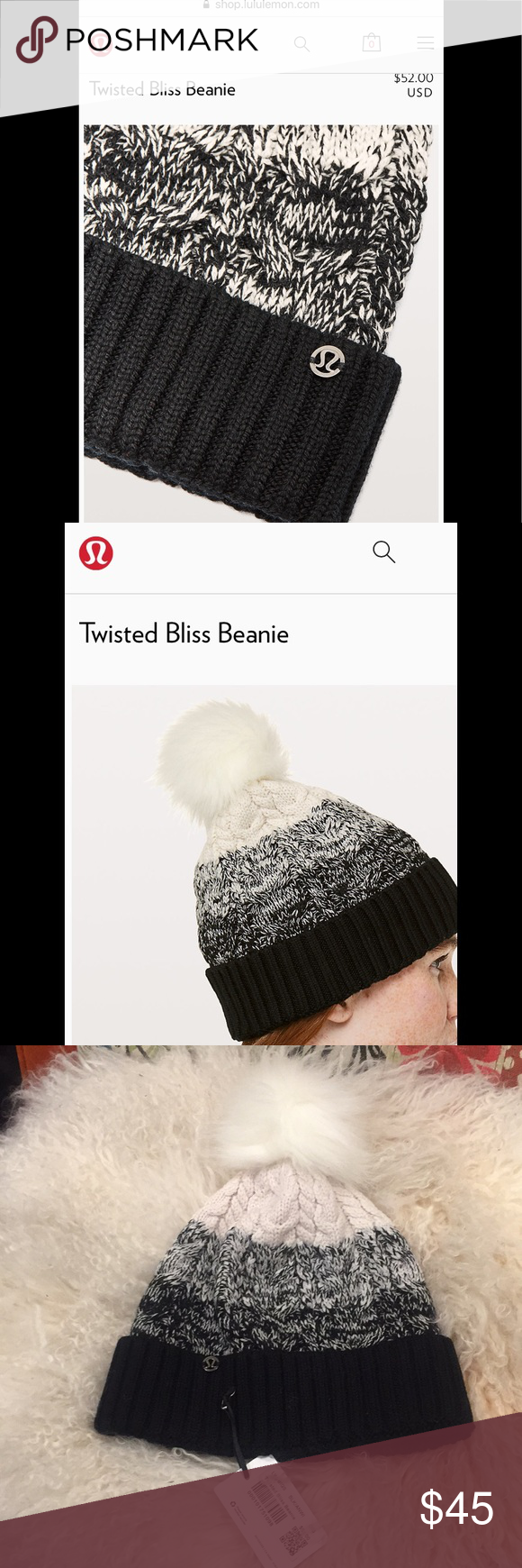 49d27ea16acac Lululemon twisted bliss beanie small Lululemon Twisted bliss Beanie  lululemon athletica Accessories Hats