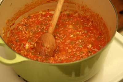 Sofrito - red or green.  Sofrito is sauteed. The fresh cut version is Recaito. For red add chopped, or canned stewed, tomatoes. For green eliminate the tomatoes. Use lots of cilantro. Add sauce to chicken, pork chops, spaghetti sauce, burritos, stews, rice. #sofritorecipe