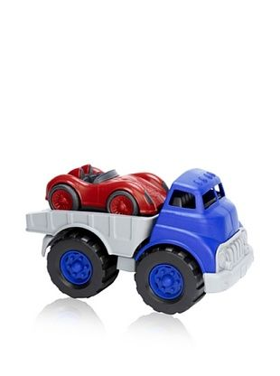 36% OFF Green Toys Flatbed Truck and Race Car