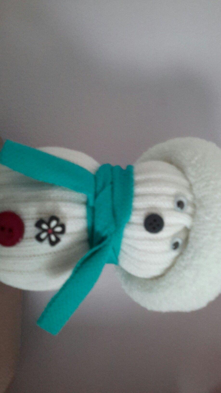 Épinglé par clémence sur bonhomme de neige avec une chaussette