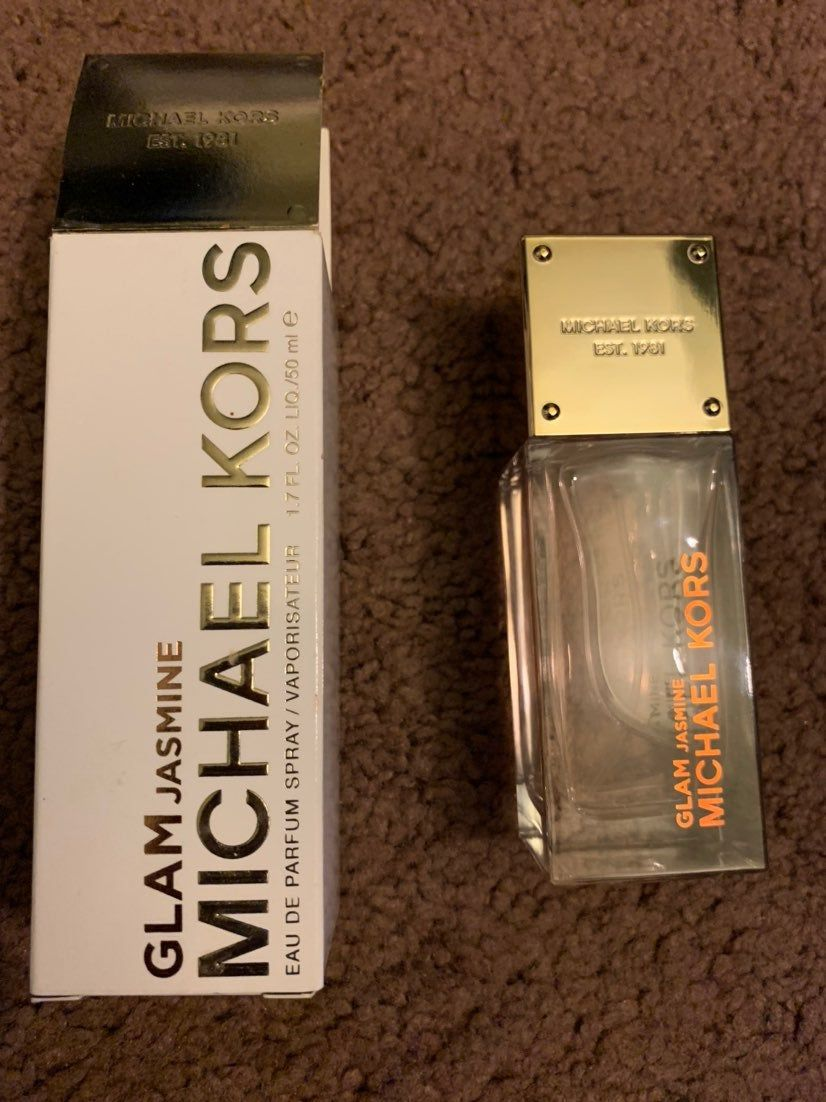 Barely Used Michael Kors Glam Jasmine Perfume 100 Guaranteed Authentic Only Sprayed A Few Times Bottle Is Still As Sho Jasmine Perfume Michael Kors Perfume