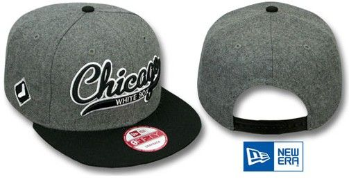 buy popular 00cba 9e2e4 ... authentic new era mlb chicago white sox snapback hats caps gray 3352  only 8.90usd 23743