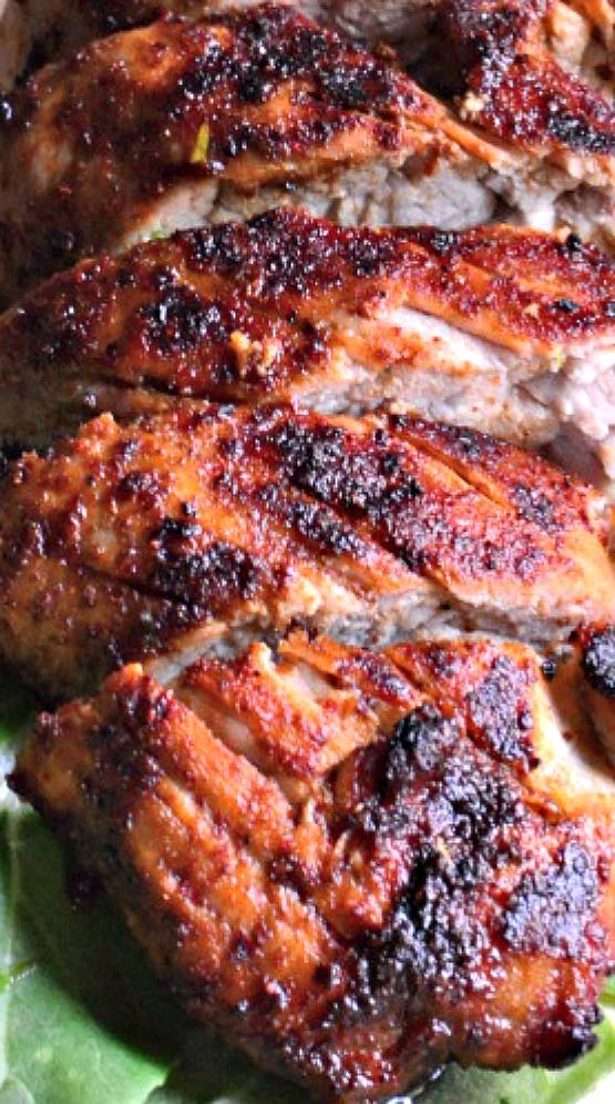 Grilled Brown Sugar Chili Pork Tenderloin Recipe Pork Tenderloin Recipes Best Pork Recipe