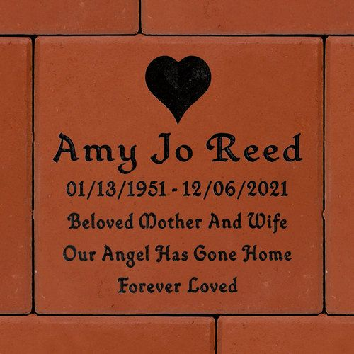 Photo Memorial Garden Bench With Engraved Text Kiln Fired Color Tile  For Outside Use