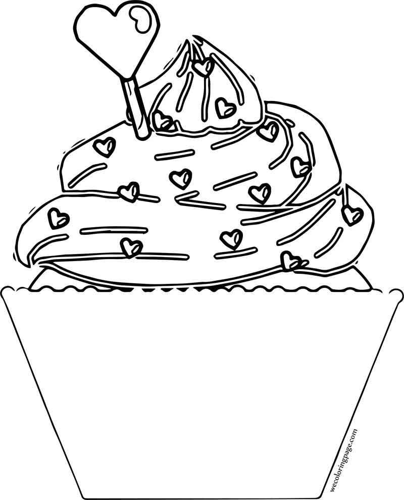 Valentine Day Cupcake Coloring Page Cupcake Coloring Pages Valentines Day Coloring Page Valentines Day Coloring