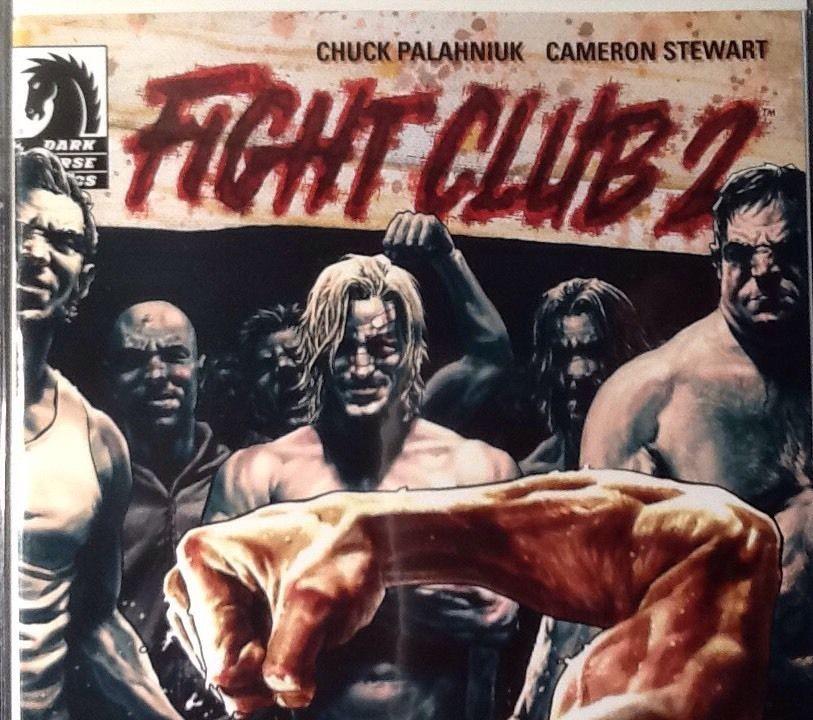 3f348922d8efa Fight Club 2 #1 Variant Dark Horse Lee Bermejo Ultra Rare SOLD ...