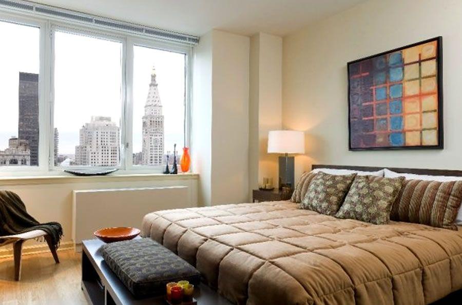 One Bedroom Interior Design Chelsea Landmark Residential Apartment  Manhattan NYC