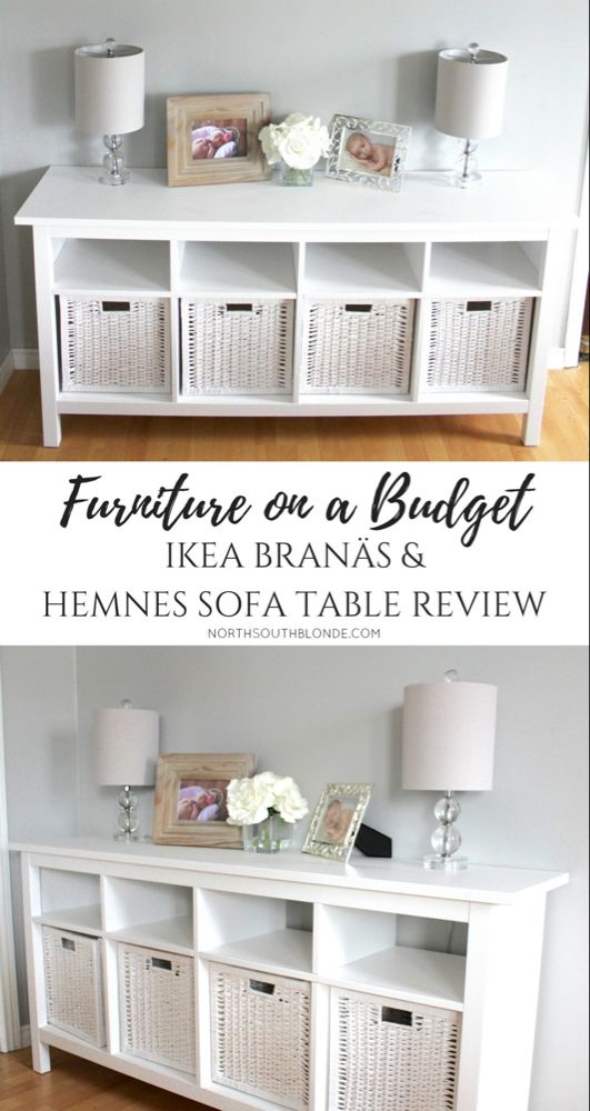 Furniture on a Budget - Ikea BRANÄS and Hemnes Sof
