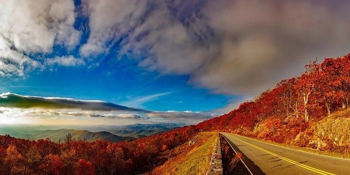 Skyline Drive, Virginia, USA