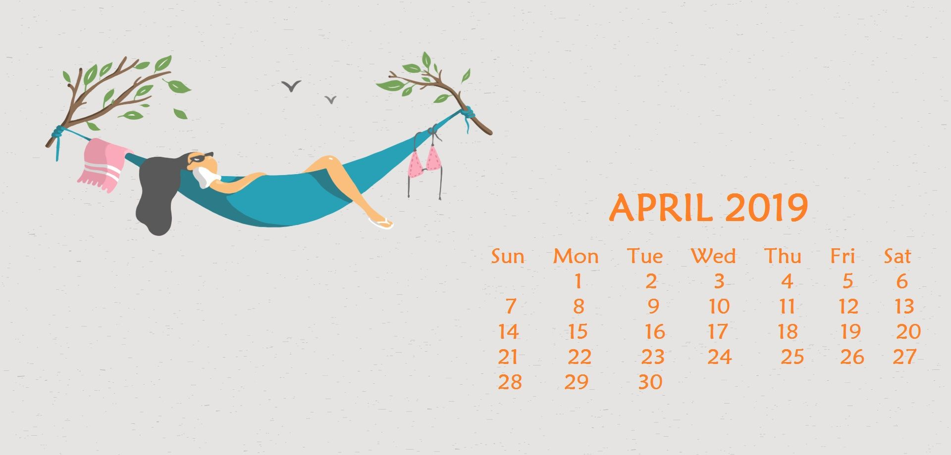 April 2020 Desktop Calendar Wallpaper Calendar Wallpaper