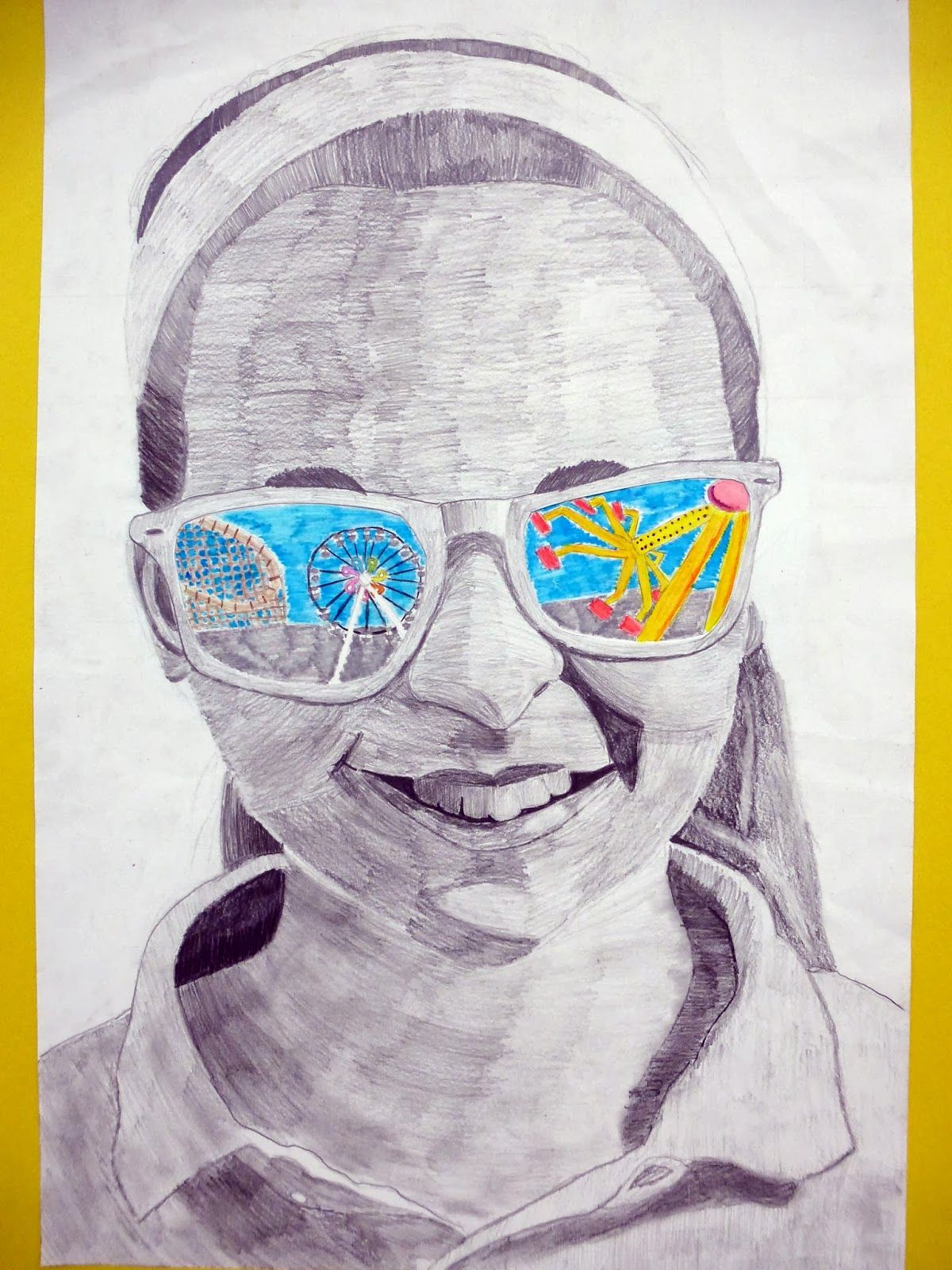 Pin By Courtney Garth On Art Self Portrait