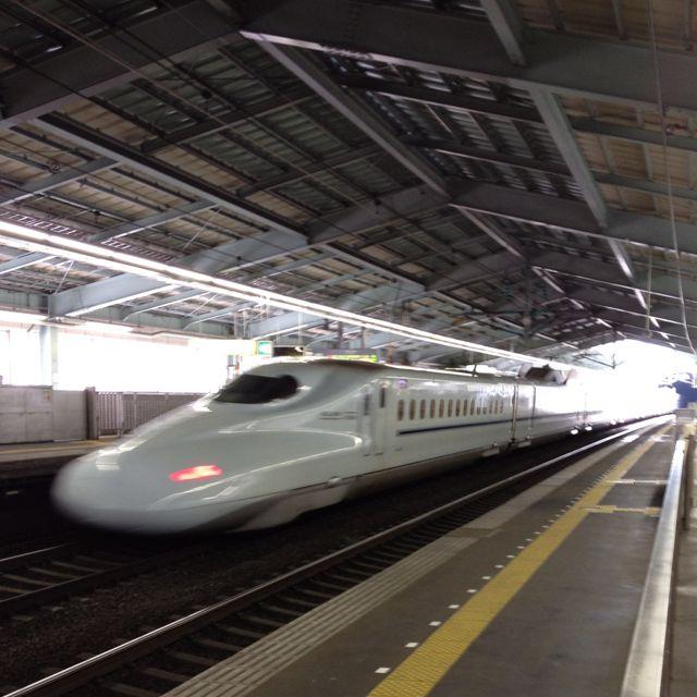 Shinkansen Ride, World's Third Fastest Train, Duck-Billed Platypus. (Tokyo-Hiroshima, Japan) 2013