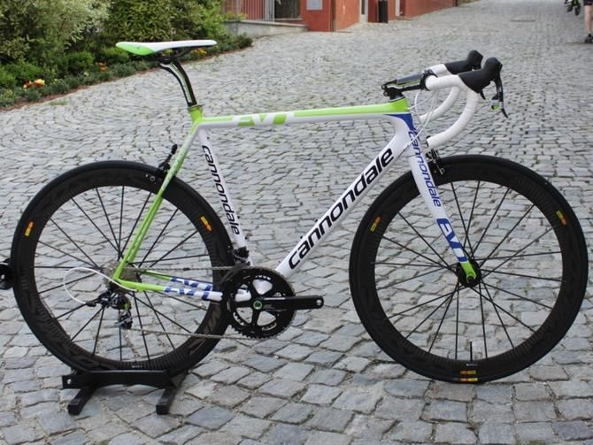 Cannondale Supersix Evo Team With Images Cannondale Mountain