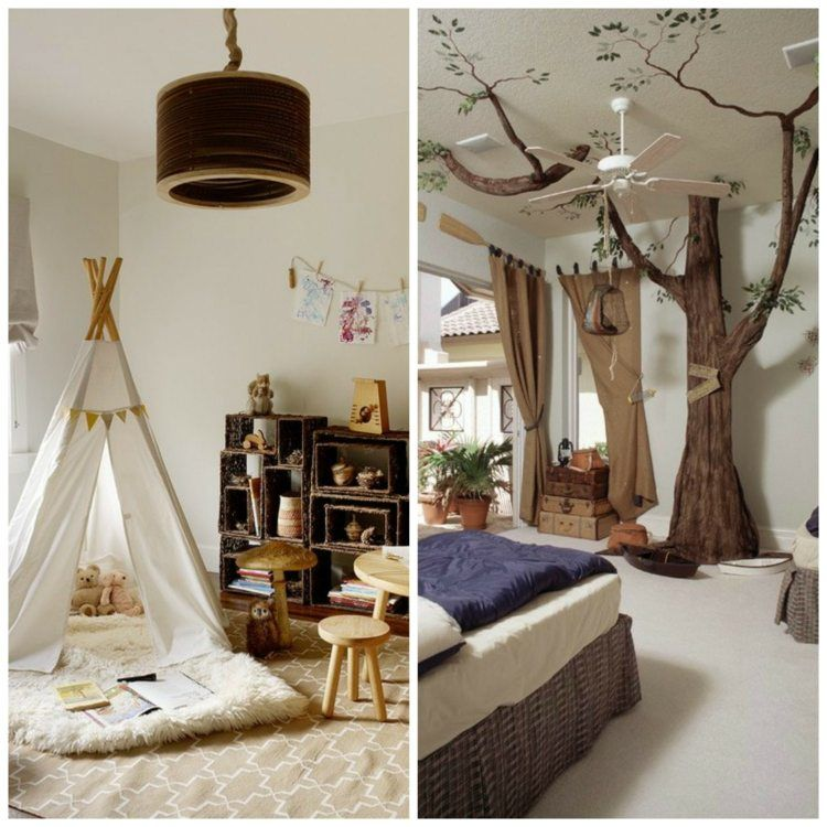 Decoration Chambre Foret Chambre Bebe Foret Chambre Foret