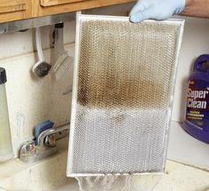 limpiar el filtro de cocina
