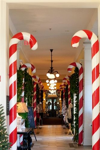 Large Candy Cane Decoration Entrancing Giant Fiberglass Candy Canes Made In The Usa  Christmas Crafts Inspiration