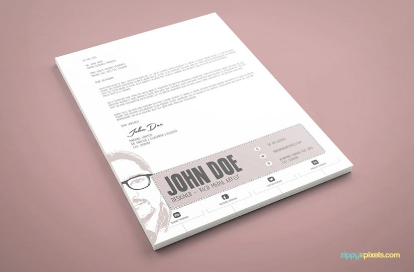 Graphic Designer Resume Template   PSD U0026 AI | Graphic Designer Resume,  Graphic Designers And Template