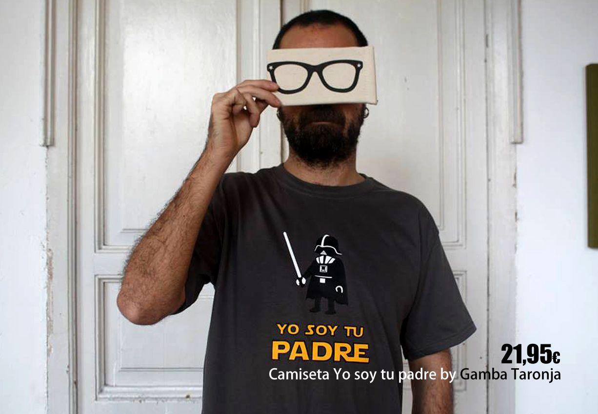 Camiseta Yo soy tu padre by Gamba Taronja.