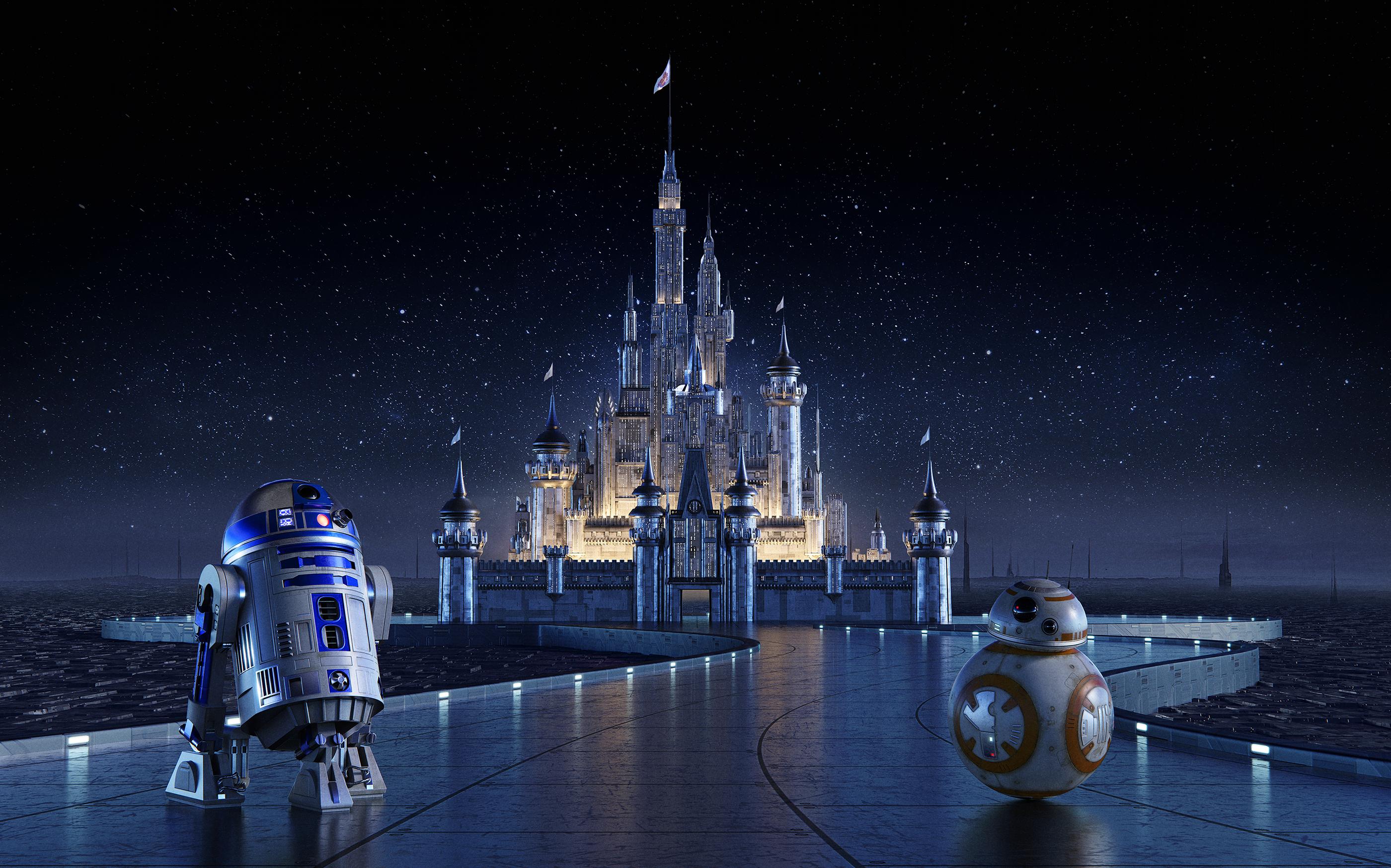 Star Wars Disney Castle Concept On Behance Star Wars Wallpaper Star Wars Movies Posters Star Wars Background