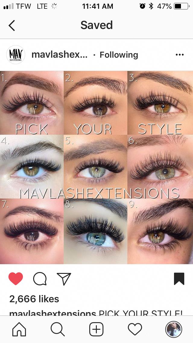 Eyelash Makeup Long Lash Extensions Permanent Lash