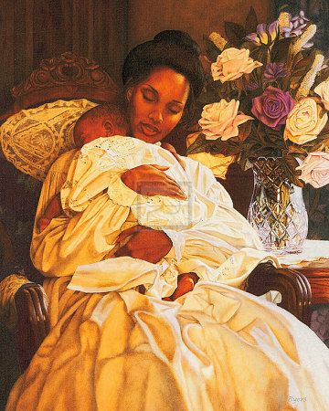 Mother and child. Melinda Byers