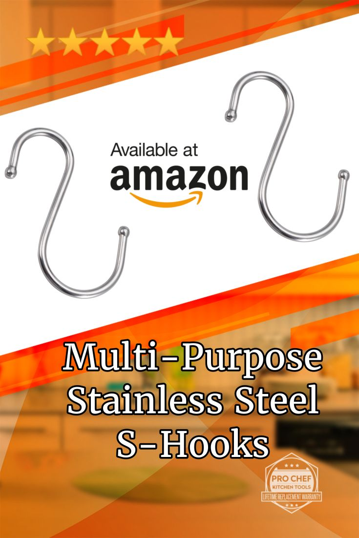 Shop And Organize Your Kitchen Like A Pro With These Hooks. Save Extra Today Using Our Amazon Coupon Code PNTSV522