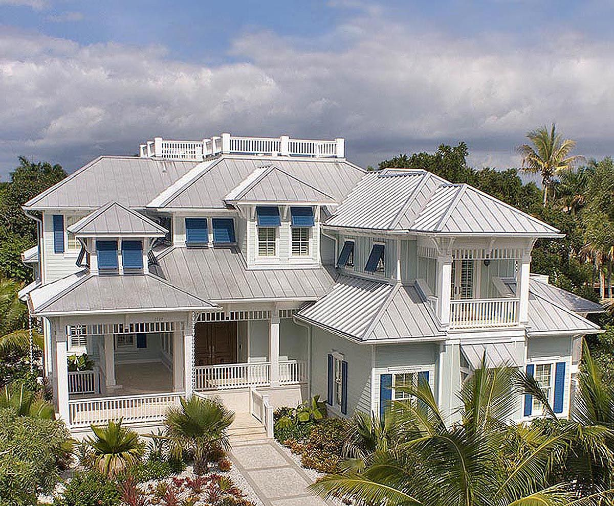 Plan we palatial florida home plan lofts open layout and